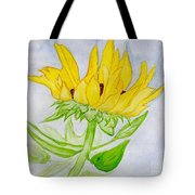 A Sunflower Blessing Tote Bag