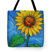 A Sunflower Tote Bag