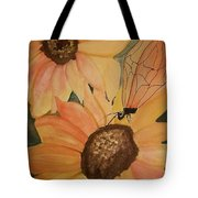 A Sunflower Surprise Tote Bag