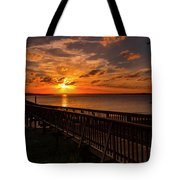 A Sunset At Spanish Wells Tote Bag