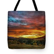 A Sunset To Remember Tote Bag