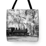 A Surreal Train Ride Tote Bag