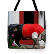 A Swiss Cow In New Glarus Wi Tote Bag
