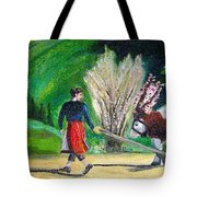 Swiss Girl Tote Bag