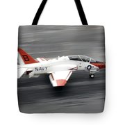 A T-45c Goshawk Training Aircraft Makes Tote Bag