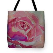 A Tale Of A Rose  Tote Bag