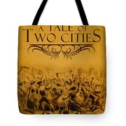A Tale Of Two Cities Book Cover Movie Poster Art 1 Tote Bag