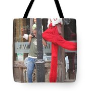 A Tall Composition Tote Bag