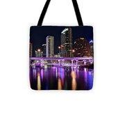 A Tampa Night Tote Bag