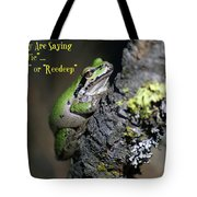 A Terrific Frog #1 Tote Bag