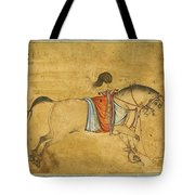 A Tethered Stallion Tote Bag