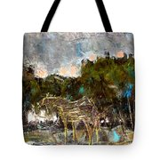 A Thirsty Horse Tote Bag