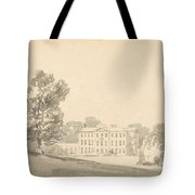A Three Storied Georgian House In A Park Tote Bag