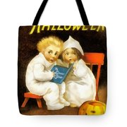 A Thrilling Halloween Tote Bag