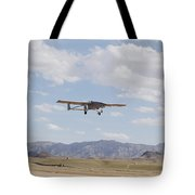 A Tiger Shark Unmanned Aerial Vehicle Tote Bag