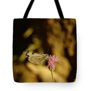 A Tilting Butterfly  Tote Bag
