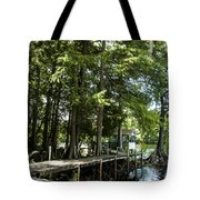 A Time To Go Fishing Tote Bag