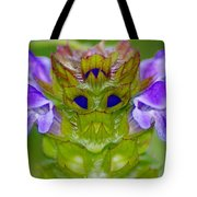 A Tiny Flower King Tote Bag