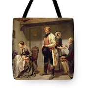 A Toast To The Engaged Couple Tote Bag