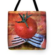 A Tomato Sketch Tote Bag