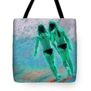 A Topless Stroll Tote Bag