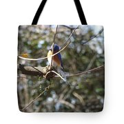A Touch Of Blue 5 Tote Bag