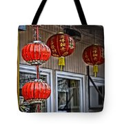 A Touch Of China Tote Bag