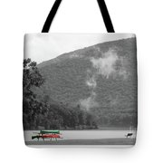 A Touch Of Color By The Lake Tote Bag