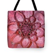 A Touch Of Coral Tote Bag