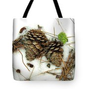A Touch Of Moss Tote Bag