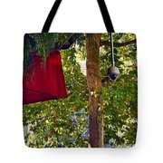 A Touch Of Red Tote Bag
