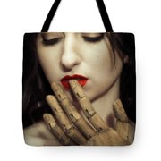 A Touch Of The Lips Tote Bag