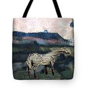 A Tough Horse  Tote Bag