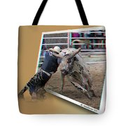 A Tough Sport - Use Red-cyan 3d Glasses Tote Bag