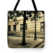 A Tree Grows In Barcelona Tote Bag