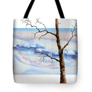 A Tree In Another Dimension Tote Bag