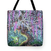 A Tree Of Many Colors Tote Bag