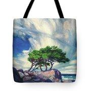 A Tree On The Seashore Reef Tote Bag