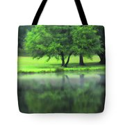 A Tree Reflected Tote Bag