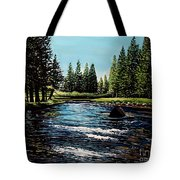 A Trip To The Mountains Tote Bag