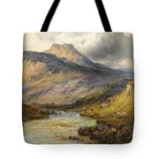 A Trout Stream Near Stirling Tote Bag
