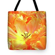 A Tulip Fully Open Tote Bag