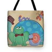 A Turtles Friends Tote Bag