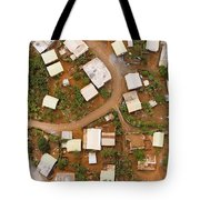 A Typical Indigenous Village Tote Bag