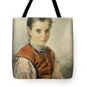 A Ukrainian Peasant Girl Tote Bag