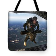 A U.s. Air Force Combat Controller Tote Bag