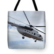 A U.s. Air Force Mi-8 Hip Helicopter Tote Bag