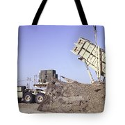 A U.s. Army Patriot Surface-to-air M901 Tote Bag