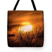 A Vague Sun Tote Bag