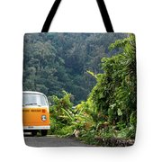 A Van Alone Tote Bag